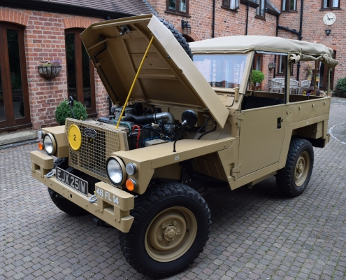land rover lightweight