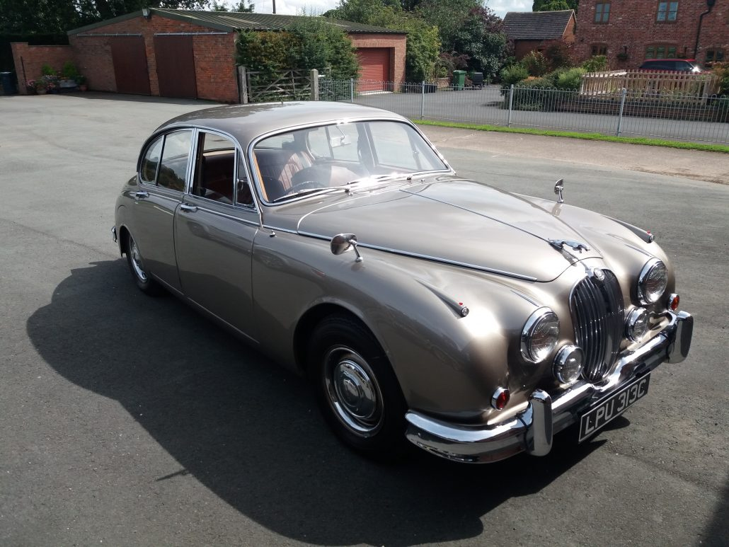 hemmings overdrive white of jaguar old cars news classifieds motor english mk for sale price